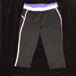 Fila Sport Live In Motion Workout Capri XL (16) Jr